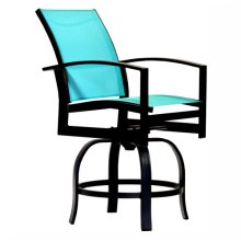 23323 2-Piece Swivel Balcony Barstool