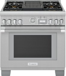 36-Inch Pro Grand® Commercial Depth Dual Fuel Range