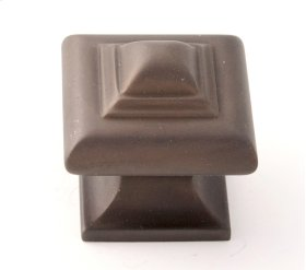 Geometric Knob A1520 - Chocolate Bronze