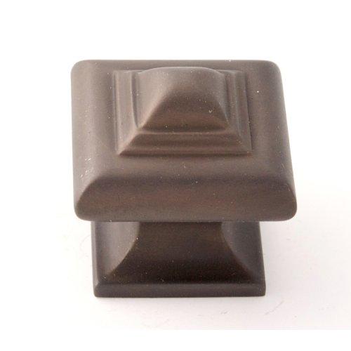 Geometric Knob A1520 - Chocolate Bronze