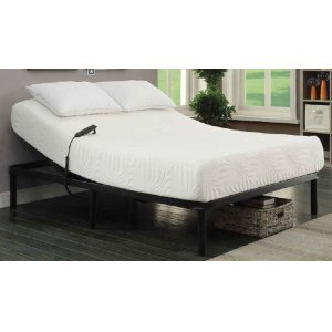 CoasterStanhope Black Adjustable Twin Extra Long Bed Base