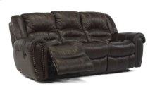 Crosstown Leather Double Reclining Sofa