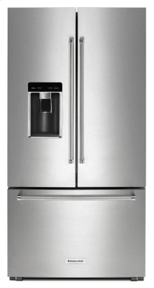 "23.8 cu. ft. 36"" Counter-Depth French Door Refrigerator - Stainless Steel"