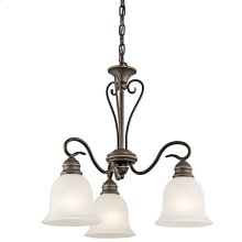 Tanglewood Collection Tanglewood 3 light Chandelier OZ