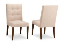 Catalina Side Chair in Fabric/Bonded Leather