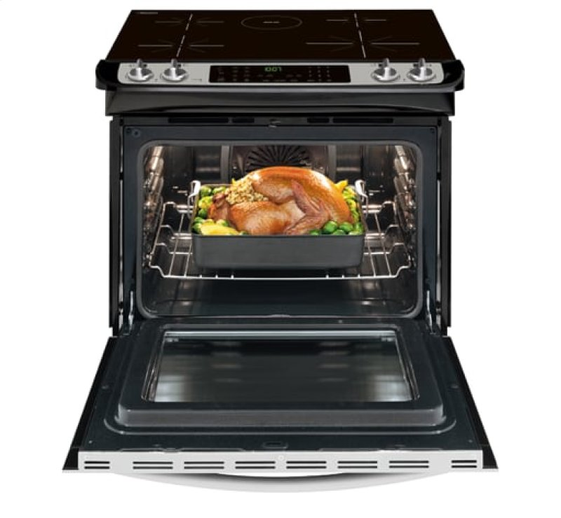 Frigidaire Gallery 30 Slide In Induction Range
