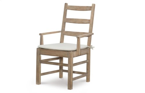 Monteverdi by Rachael Ray Ladder Back Arm Chair