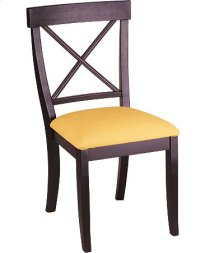La Croix Side Chair w/ Fabric Seat