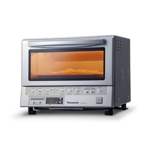 PANASONICFlashXpress Toaster Oven with Double Infrared Heating - Silver- NB-G110P