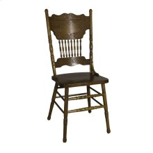 Double Press Back Side Chair