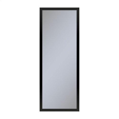 """Profiles 11-1/4"""" X 30"""" X 4"""" Framed Cabinet In Matte Black With Electrical Outlet, Usb Charging Ports, Magnetic Storage Strip and Right Hinge"""