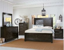 "Montana Side Rails for Queen or King Bed, Brown, 81""x2""x8"""