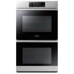 """Dacor30"""" Steam-Assisted Double Wall Oven, Silver Stainless Steel"""