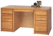 "60"" Double Pedestal Desk Product Image"
