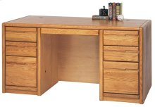 "60"" Double Pedestal Desk"