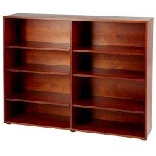 8 Shelf Bookcase : Chestnut