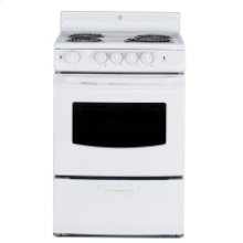 "24"" Free Standing Electric Standard Clean Range"
