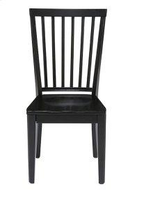 Dining Chair (2/Ctn) - Smoke/Black Finish