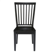 Dining Chair (2/Ctn) - Smoke/Black Finish