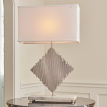 Diamond Rods Lamp-Nickel