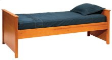 Dover Daybed (Two Footends), 2 Position Ply Rails, Wooden Slats