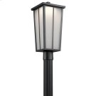 Amber Valley Collection Amber Valley LED Post Lantern in BKT Product Image