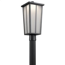 Amber Valley Collection Amber Valley LED Post Lantern BKT