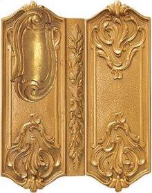 Double Door Rim Lock Regency Style