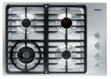 "30"" 4 Burner Stainless Steel Cooktop - Liquid Propane"