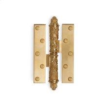 Antique Gold Garland II Paumelle Hinge