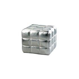 Silver Fox Ottoman 18 Cube