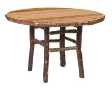 Round Dining Table - 42-inch - Natural Hickory