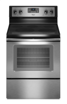 "5.3 cu. ft. Capacity Electric Range with 12""/9"" Dual Radiant Element"
