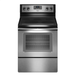 "WHIRLPOOL5.3 cu. ft. Capacity Electric Range with 12""/9"" Dual Radiant Element"