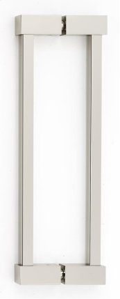 Contemporary II Back-to-Back Pull G718-8 - Polished Nickel
