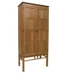 Eastwood Bookcase w/Wood Paneled Doors