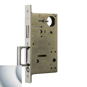 Satin Chrome 8603 Pocket Door Strike with Pull