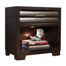 Sable 1 Drawer USB Charging Nightstand