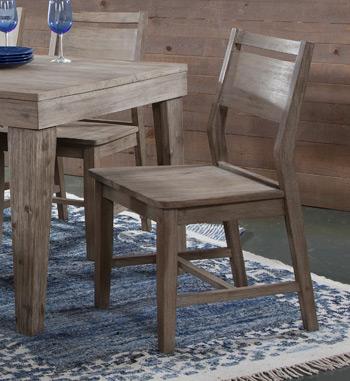C03a3john Thomas Furniture Aspen Panelback Chair Gray Wash Shuee S