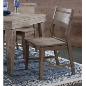 JOHN THOMAS FURNITUREAspen Panelback Chair Gray Wash