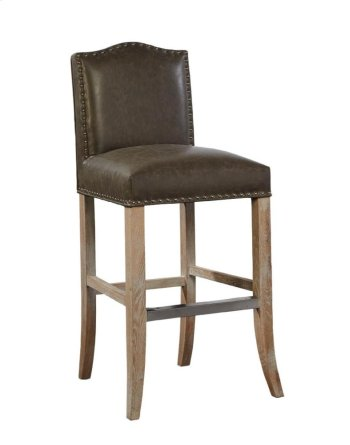 Taupe Pauper Bar Stool Product Image