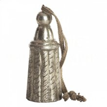 Gilt Silver Wood Tall Tie Back