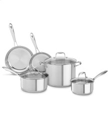 KitchenAid Stainless Steel 8-Piece Set - Polished Stainless Steel