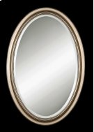 Petite Manhattan Oval, Champagne Sil Product Image