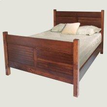 Straight Cut Shutter Bed