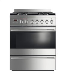 "Dual Fuel Range 30"", Self Cleaning"