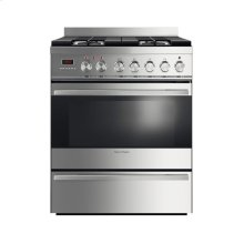 "Floor Model - Convection 30"" Duel Fuel Range, Self Cleaning"