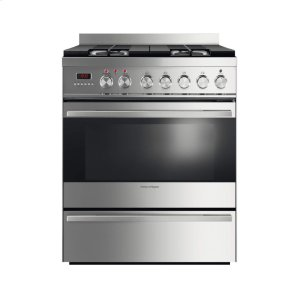 "FISHER & PAYKELDual Fuel Range 30"", Self Cleaning"