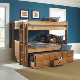 Full/Full Bunkbed with Trundle