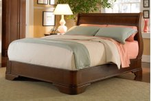 Louis Philippe Queen Sleigh Bed